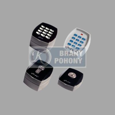 Kódové klávesnice - kľúčové spínače